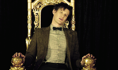 The Eleventh Doctor wallpaper with a throne called The Eleven Doctor