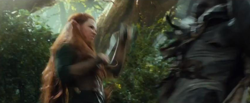 The Hobbit The Hobbit: Desolation of Smaug - First Trailer Screencaps