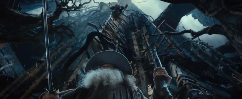 The Hobbit The Hobbit: Desolation of Smaug - First Trailer Screencaps