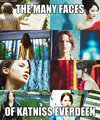 The Many Faces of Katniss Everdeen - katniss-everdeen fan art