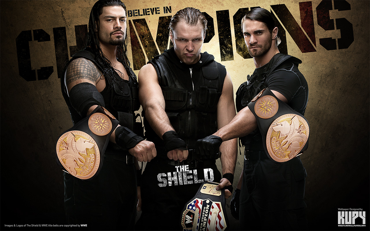 Wwe Images The Shield Champions Hd Fond Décran And Background