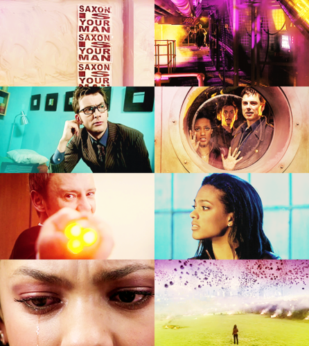 The Sound of Drums/The Last of the Timelords