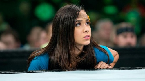 The many faces of AJ Lee