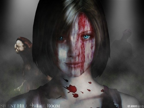 Silent Hill wallpaper containing a portrait entitled The room