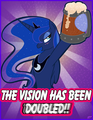 The vision has been doubled! (just for laughs) - my-little-pony-friendship-is-magic photo