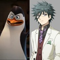 They look alike:D - penguins-of-madagascar photo