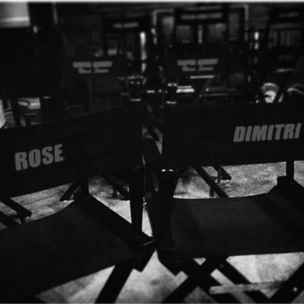VA filming-Rose and Dimitri ♥