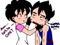 Videl and Gohan