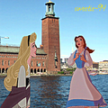 Visiting Stockholm - disney-crossover photo