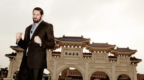 Wade Barrett visits Japan and Taiwan