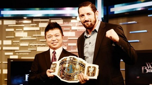 Wade Barrett visits Hapon and Taiwan