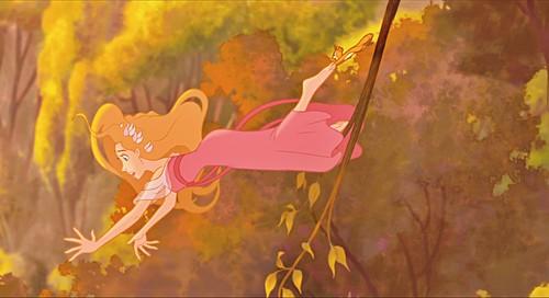 Walt 디즈니 Screencaps - Princess Giselle & Pip
