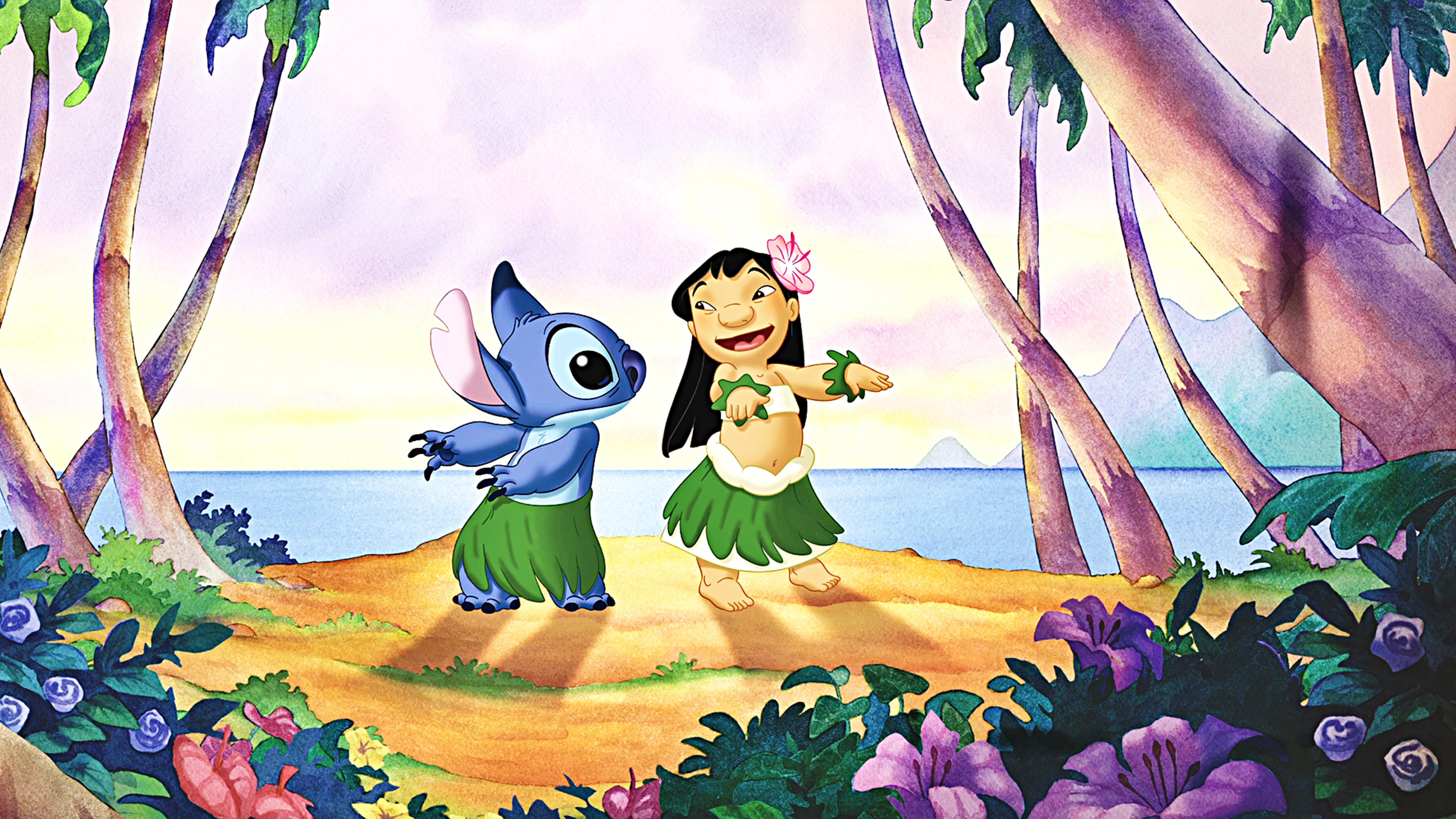 Walt डिज़्नी वॉलपेपर्स - Lilo & Stitch