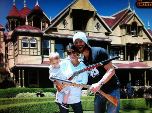 jared padalecki wallpaper possibly containing a mosquete entitled Winchester Mystery House