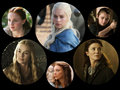 Women of Game of Thrones - game-of-thrones fan art