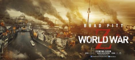 World War Z Poster Berlin