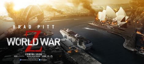World War Z Poster Sydney