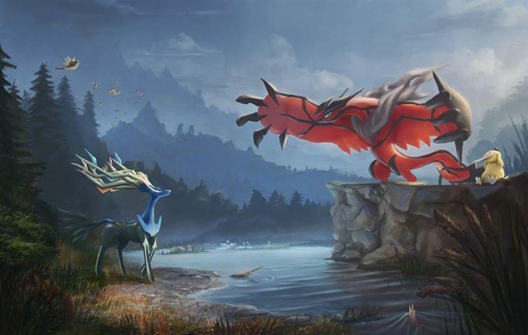 Xerneas and Yveltal - Pokémon Photo (34662783) - Fanpop