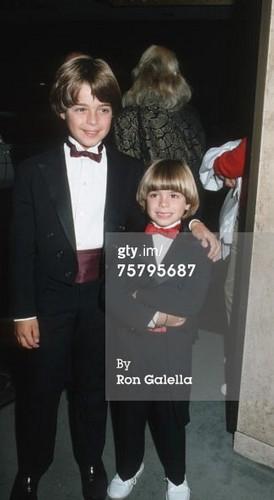 Young Matt and Joey