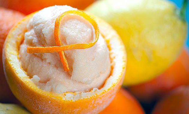 orange sorbet ingredients orange sorbet fresh orange sorbet sorbet ...
