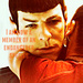 Zachary Quinto as Spock in Star Trek - zachary-quinto icon