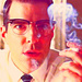 Zachary Quinto as Dr. Oliver Thredson in AHS
