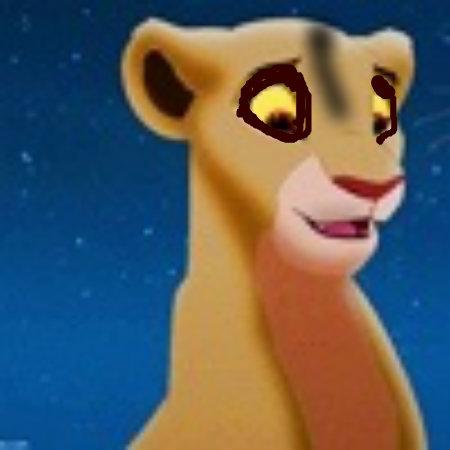 Zira when she met scar