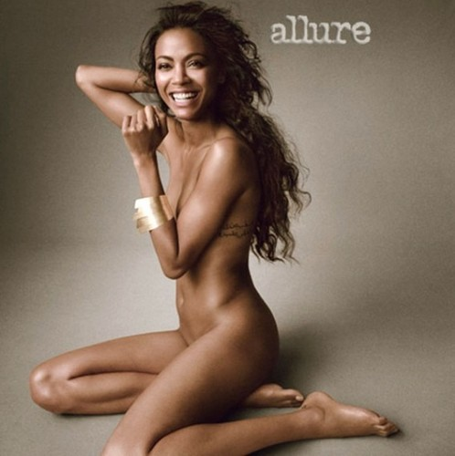 Zoe Saldana: Her Allure Foto Shoot
