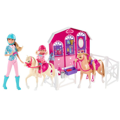 barbie her sisters in a poni, pony tale