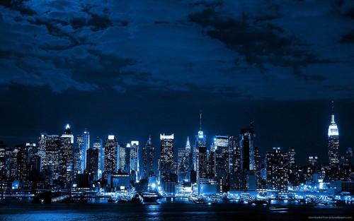 blue-neon-cityscape