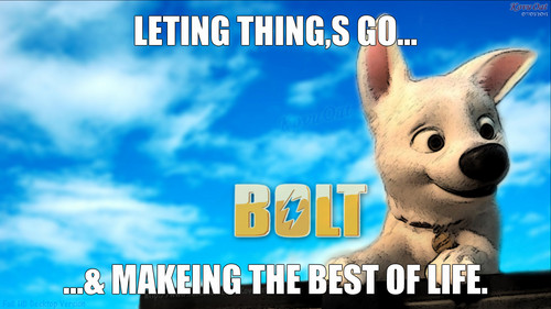 bolt let,s go of being sad about aelly,s death