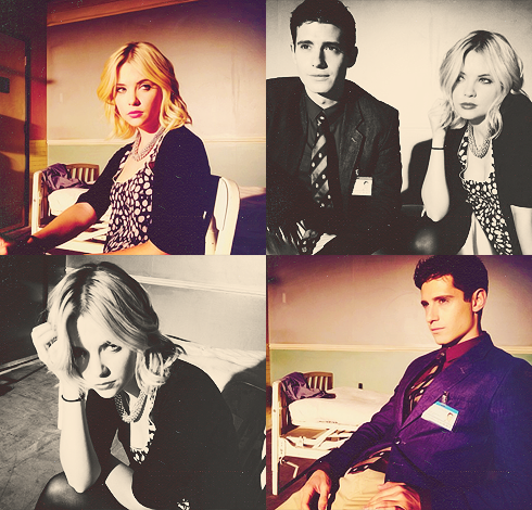 Pretty Little Liars wallpaper probably containing a concert, a well dressed person, and a business suit entitled cast