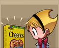 cheerios - bleedman photo