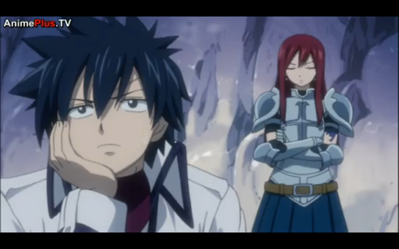 cute pic of gray and erza