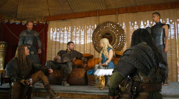 dany and jorah and stormcrowns