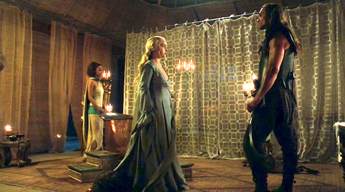 dany and missandei with daario