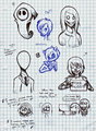 doodles - creepypasta fan art