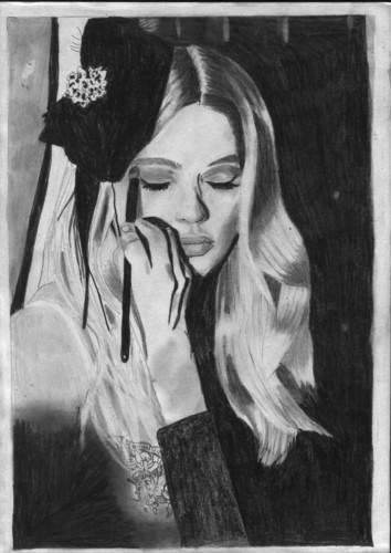 doutzen drawing