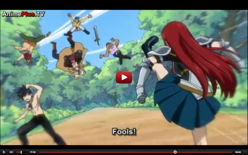 Fairytail 4ever वॉलपेपर containing ऐनीमे called erza kicking but