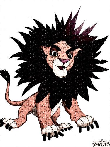 evil simba >:D