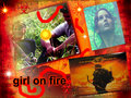 girl on fire - katniss-everdeen fan art