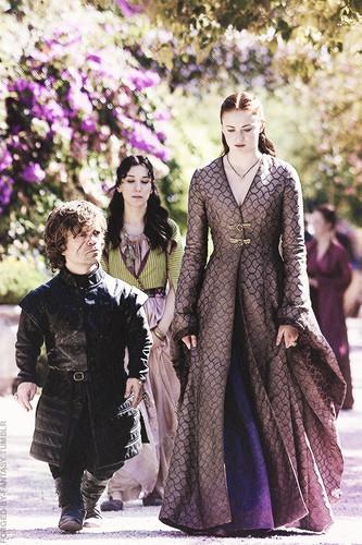 Tyrion Lannister & Sansa Stark