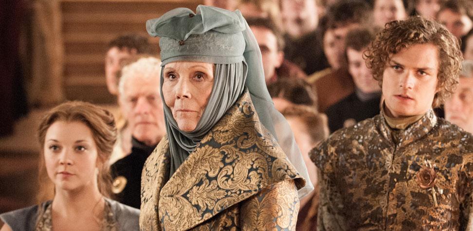 Loras, Margaery & Olenna Tyrell