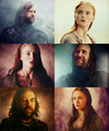 Sandor Clegane & Sansa Stark - game-of-thrones fan art
