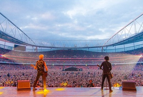 greenday live at Emirates Stadium