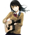 guitar anime girl - msyugioh123 photo