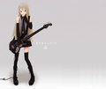 guitar anime girl