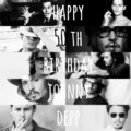 happy 50th birthday! - johnny-depp fan art