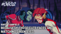 impules and beast boy - young-justice photo