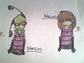 irken and human Maricruz - invader-zim-fancharacters photo